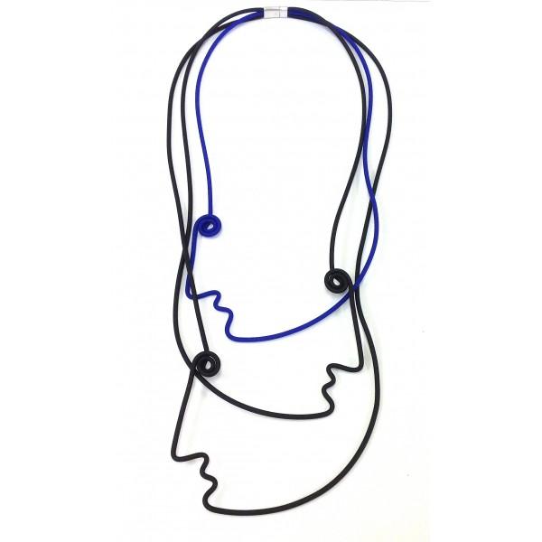 Samuel Coraux rubber necklace